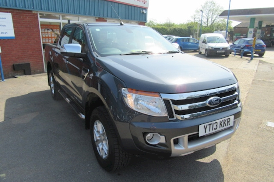 Ford Ranger Limited 4X4 Dcb Tdci