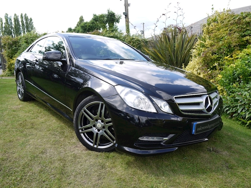 Mercedes E Class E250 CDI Blueefficiency AMG Sport Stop/Start (FULL LEATHER+COMAND ONLINE+Sport Pack)