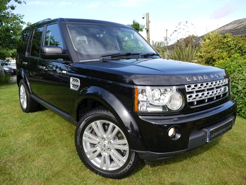 Land Rover Discovery 3.0 SDV6 HSE Auto (7 Seater+Privacy+HDD Sat Nav+KEYLESS+Harmon Karden Logic 7+DAB+Voice+XENONS)