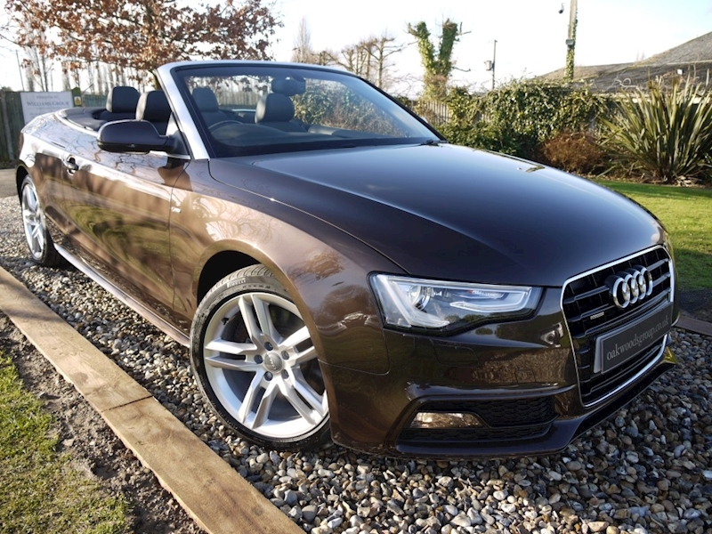 Audi A5 3.0 TDi Quattro S Line S Tronic (B&O+Advance Key+AMI+ADAPTIVE Xenons+Electric HEATED Front Seats)