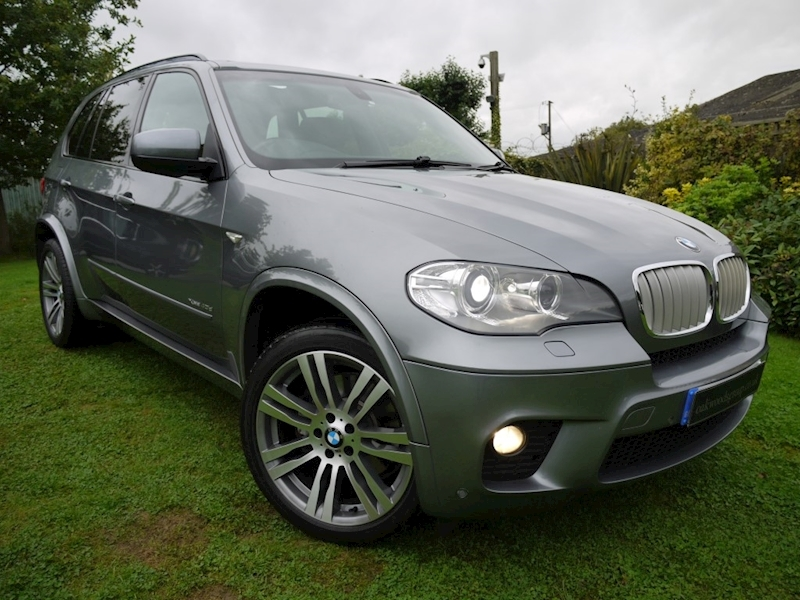 Bmw X5 Xdrive40d M Sport (MEDIA+THIRD ROW 7 SEATER+PANORAMIC ROOF+20