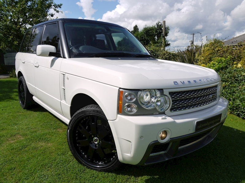 Land Rover Range Rover 4.2 SuperCharged Vogue SE Full Overfinch 500 Sport Model Bespoked 154k NEW Range Rover S/C