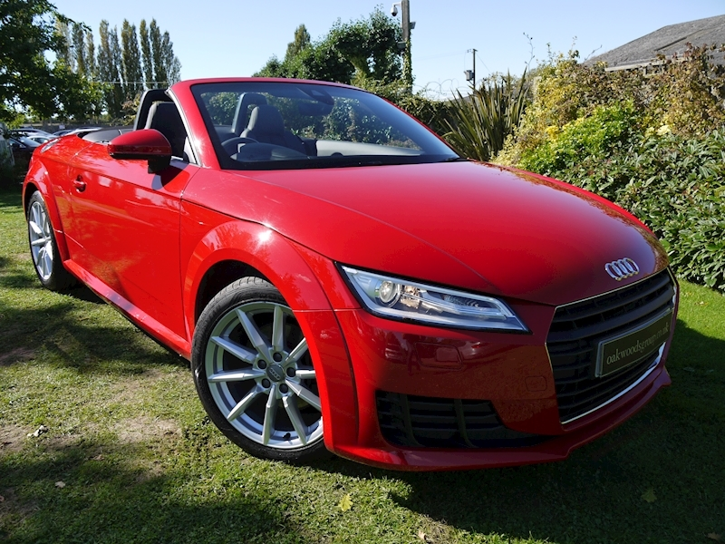 Audi Tt 2.0 TDI Ultra Sport (Dash Sat Nav+DAB+Digital Air Con+Rear PDC+HEATED Seats+Audi Sound+LED Lights)