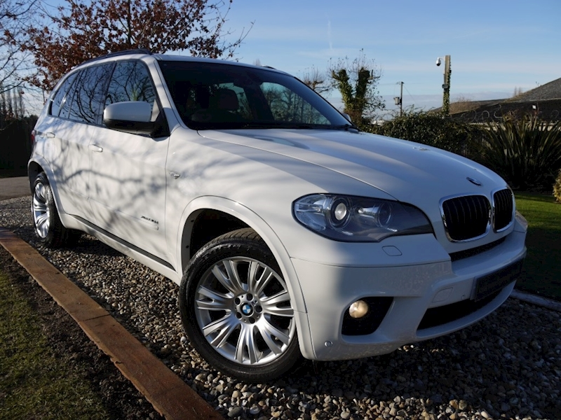 Bmw X5 Xdrive30d M Sport 8 Speed (Third Row Seating 7 Seater+MEDIA Pack+Privacy+Heated Seats+19