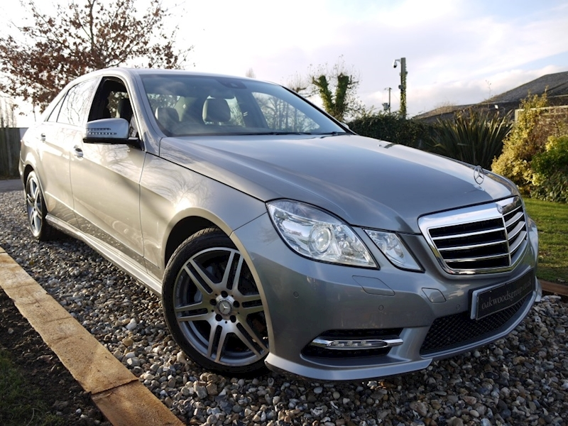 Mercedes E Class E350 CDI Blueefficiency S/S Sport