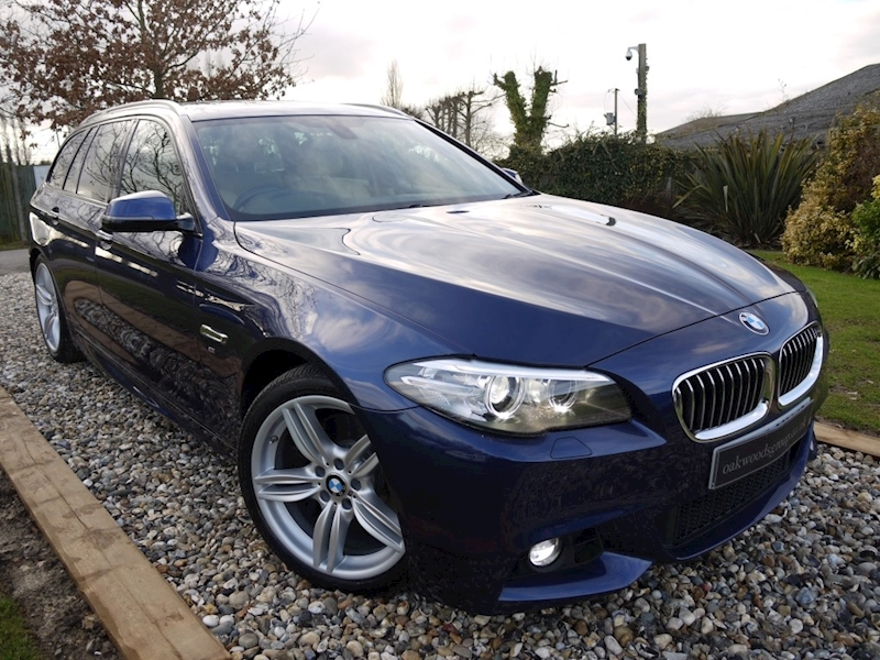 Bmw 5 Series 530D M Sport Touring PLUS (VDC Variable Damper Control+MEDIA Pk+SAT NAV+DAB+Harmon Kardon)