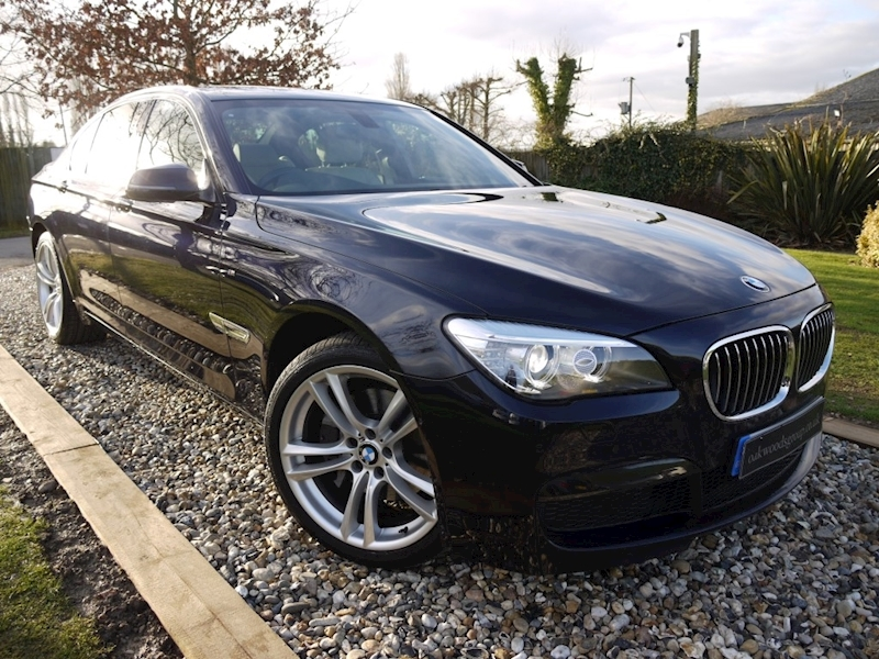 Bmw 7 Series 730D M Sport Exclusive (IVORY Leather+20