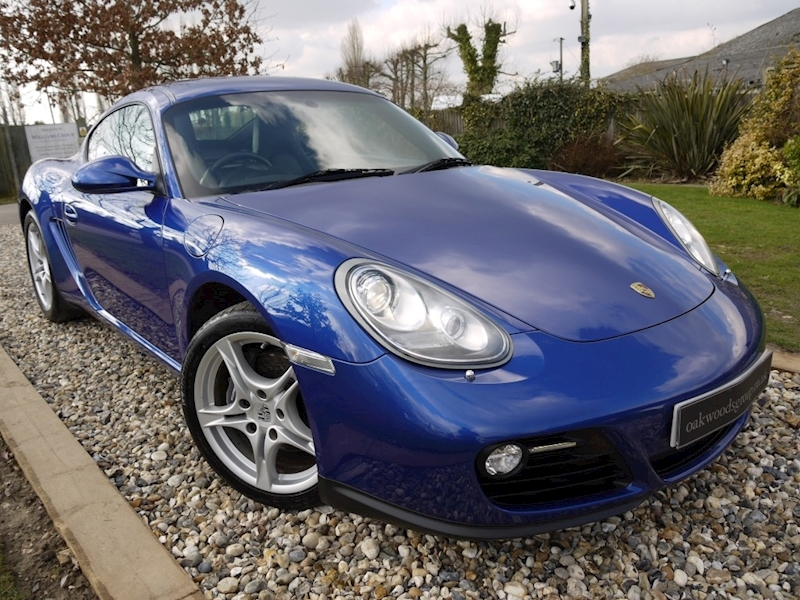Porsche Cayman 24V Gen II 987 Man (Huge Spec+PCM Sat Nav+BLUETOOTH+Bi-Xenons+CLIMATE+Sound Pack+ParkAssist+CRUISE)