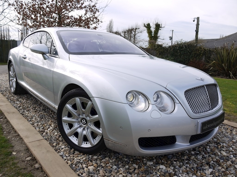Bentley Continental 6.0 GT W12 550 BHP (FULL History+LOW Miles+JUST 3 Owners+LOVELY Example)