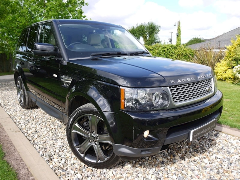 Land Rover Range Rover Sport 3.0 SDV6 HSE Black Edition (IVORY Leather+TRACKER+History+PRIVACY+Outstanding)