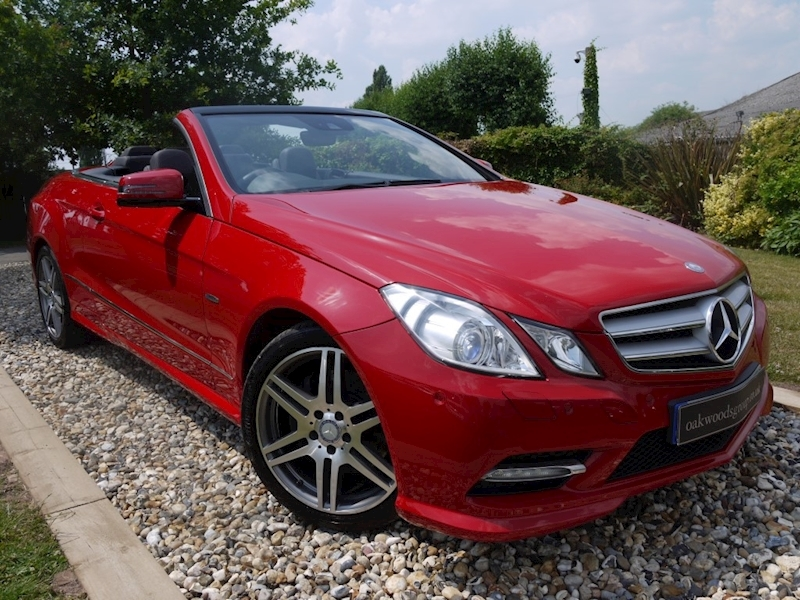 Mercedes E Class E250 Cdi Blueefficiency Sport Ed125 (Air Scarf+DAB+Sat Nav+Dynamic Handling Package+Full Leather)