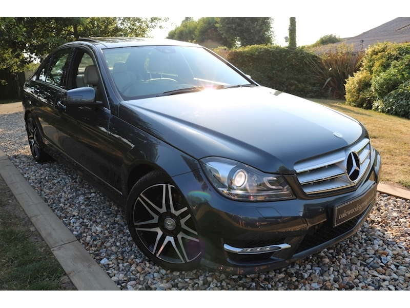 Mercedes C Class C350 CDi Blueefficiency AMG Sport Plus (PANORAMIC Roof+MEMORY Pk+LOGIC 7+Full MERC Hist+COMAND)