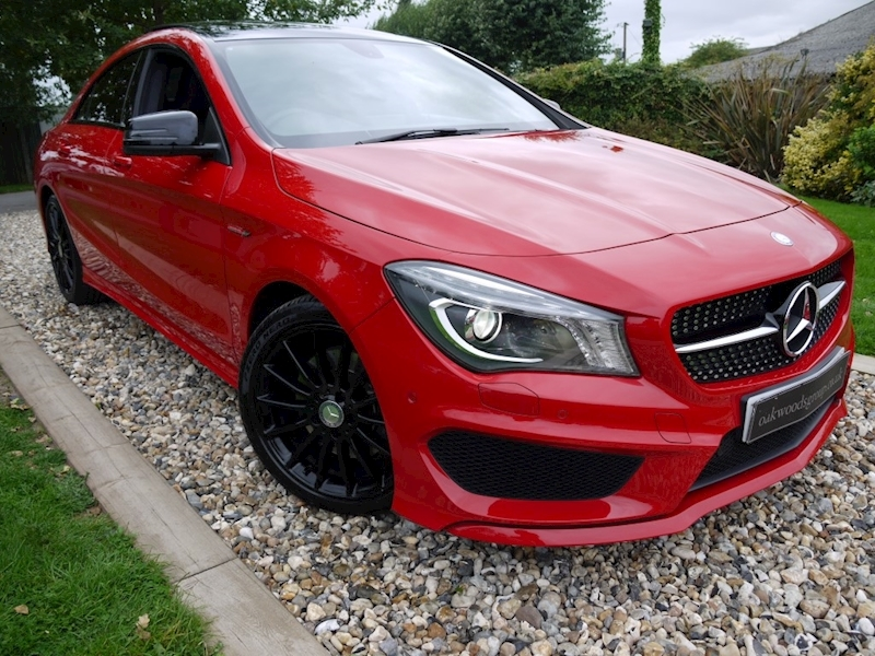 Mercedes Cla CLA220 CDi AMG Sport (NIGHT Pack+PANORAMIC Roof+MEMORY Pack+Privacy+1 Owner+MERCEDES History)