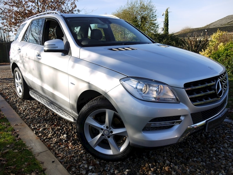 Mercedes M-Class ML350 Bluetec Special Edition (COMAND Sat Nav+Running Boards+Rear Park+CRUISE+ELECTRIC Seats)