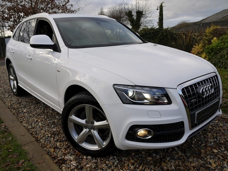 Audi Q5 2.0 TDi Quattro S Line S Tronic (Full Black Leather+Full History+19