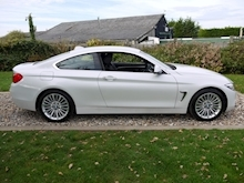 Bmw 4 Series 420D Luxury (Mineral White+Full Black Panel+BMW Professional Multimedia+Sat Nav) - Thumb 3