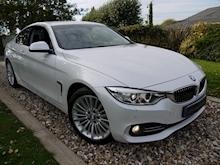 Bmw 4 Series 420D Luxury (Mineral White+Full Black Panel+BMW Professional Multimedia+Sat Nav) - Thumb 0