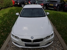 Bmw 4 Series 420D Luxury (Mineral White+Full Black Panel+BMW Professional Multimedia+Sat Nav) - Thumb 5