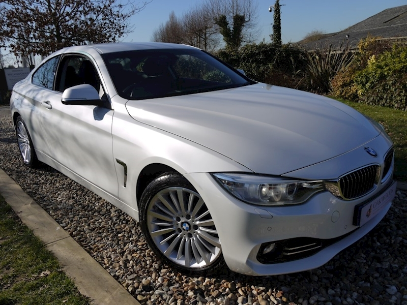 Bmw 4 Series 420D Luxury (BMW Professional Multimedia+SAT NAV+Black Panel+Full History+Luxury M Sport Model)