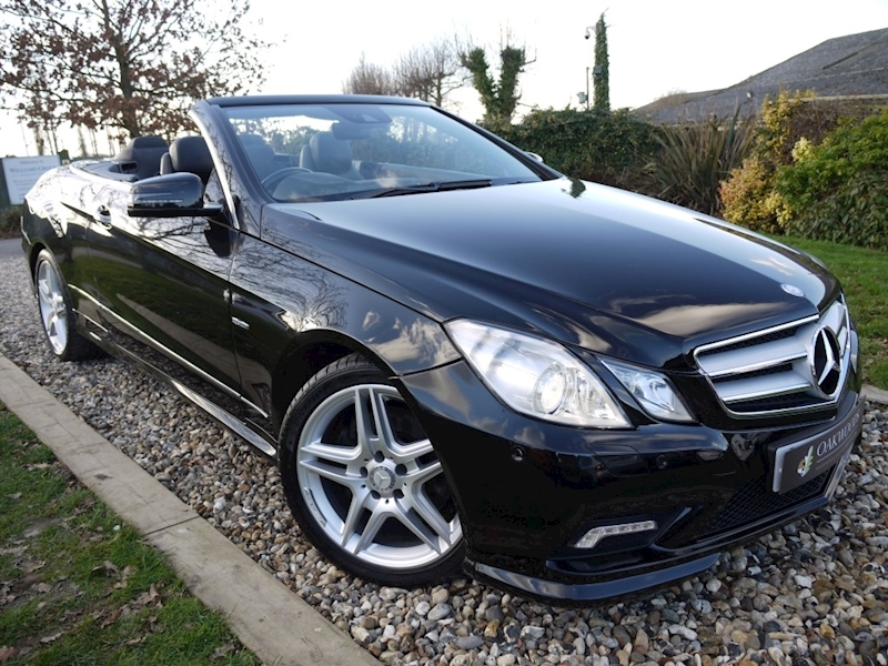 Mercedes-Benz E Class E350 CGi Blueefficiency Sport (Full Leather+Surround Sound Harmon Kardon LOGIC 7+Airscarf+History)