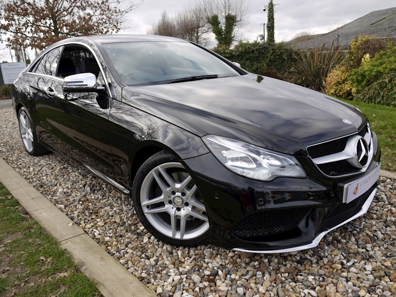 Mercedes-Benz E Class E220 CDi AMG Sport Facelift (COMAND Sat Nav+HEATED Seats+CRUISE+Full MERC History+BLUETOOTH)