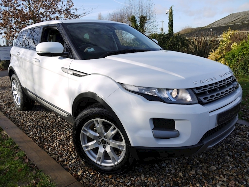 Land Rover Range Rover Evoque Td4 Pure (Leather+Cruise Control+PRIVACY+Just 2 Owners+History)