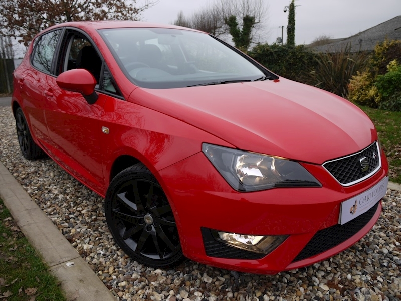 Seat Ibiza 1.2 TSI Fr DSG 5 Door (SAT NAV+Air Con+ Black 17