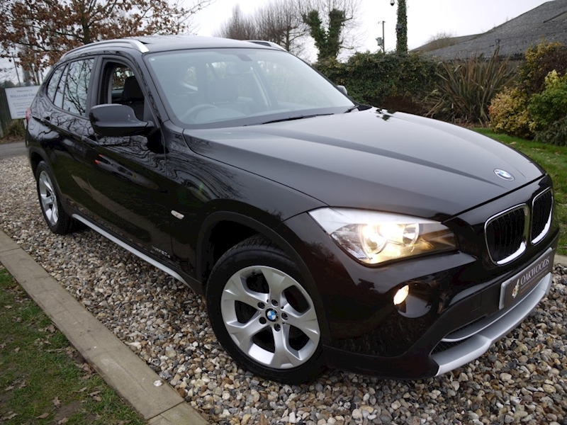 Bmw X1 Xdrive20d SE Auto (PANORAMIC Glass Roof+Sat Nav+HEATED Seats+1 Owner+Just 32,000 Miles)