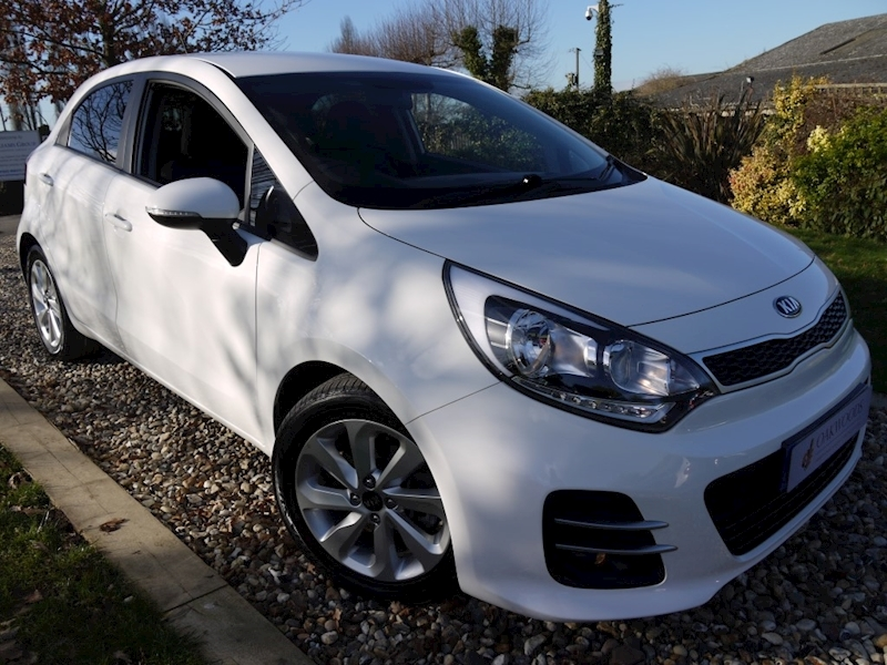 Kia Rio 1.4 CRD 2 Eco Dynamics S/S (ZERO Tax+70MPG+Air Con+DAB+Alloys+BLUETOOTH+KIA History)