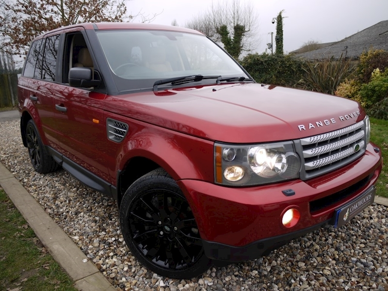 Land Rover Range Rover Sport TDV8 HSE E4 (Sat Nav+Adaptive Cruise+Rear DVD Entertainment+Gloss Black Alloys+Full Service History)