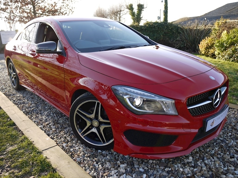 Mercedes-Benz Cla CLA180 AMG Sport (COMAND Sat Nav+Night Pack+AMG Sport+AMG Exclusive+Mercedes History)