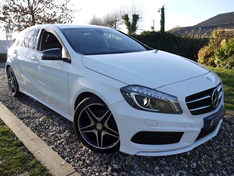 Mercedes-Benz A-Class A200 Cdi AMG Sport (AMG Sport Pack+AMG Exclusive Pack+Sat Nav+Night Pack+Merc History)