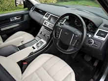 Land Rover Range Rover Sport 3.0 SDV6 HSE (Full AUTOBIOGRAPHY Bodystyling+Gloss Black OVERFINCH Alloys+IVORY Leather) - Thumb 6