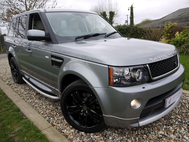 Land Rover Range Rover Sport 3.0 SDV6 HSE (Full AUTOBIOGRAPHY Bodystyling+Gloss Black OVERFINCH Alloys+IVORY Leather)