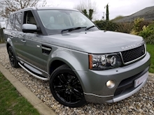 Land Rover Range Rover Sport 3.0 SDV6 HSE (Full AUTOBIOGRAPHY Bodystyling+Gloss Black OVERFINCH Alloys+IVORY Leather) - Thumb 0