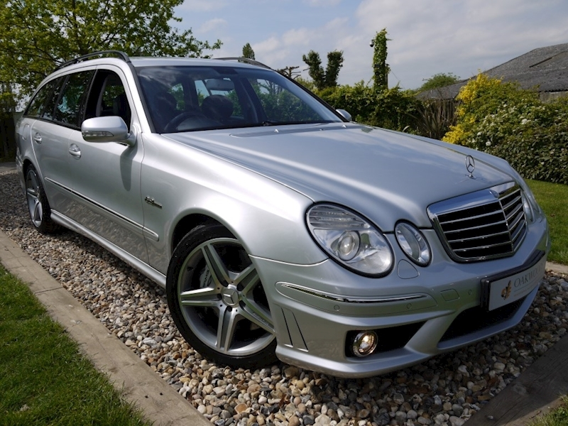 Mercedes E Class E63 AMG (COMAND+ParkTronic+Last Owner 8 Years+Full MERCEDES History+Outstanding Condition)