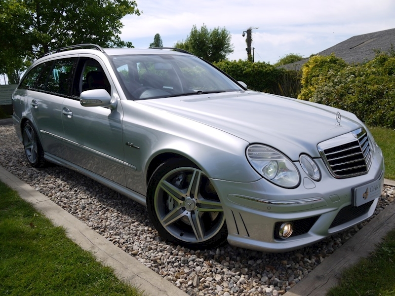 Mercedes E Class E63 AMG (COMAND+ParkTronic+Last Owner 11 Years+Full MERCEDES History+Outstanding Condition)