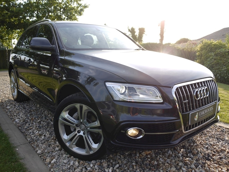 Audi Q5 Tdi Quattro S Line Plus (Open Sky PANORAMIC Glass Roof+DAB+HDD Sat Nav+20