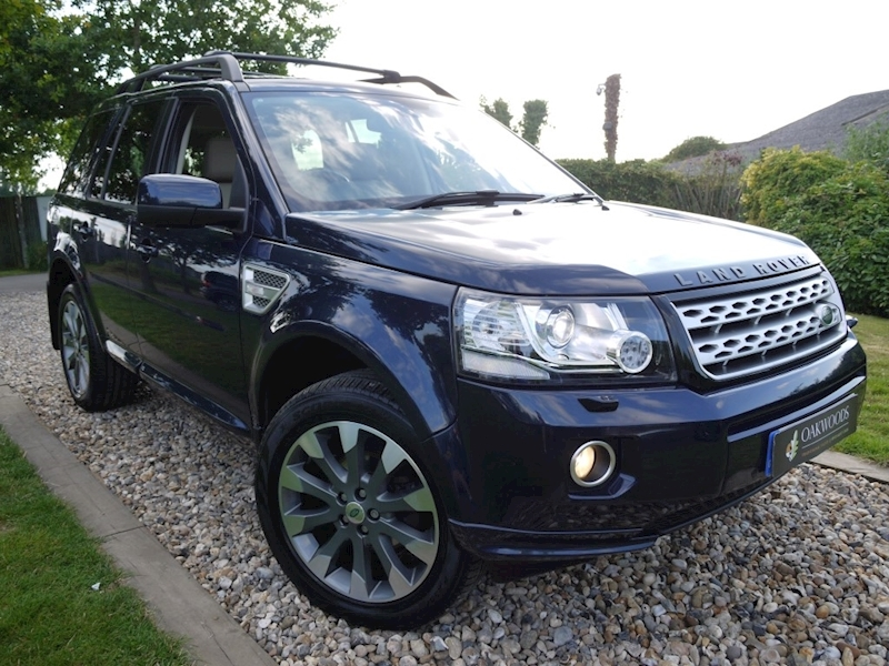 Land Rover Freelander Sd4 HSE Luxury Auto (Ivory Leather+PAN Roofs+HEATED Seats, Screen and Steering Wheel)