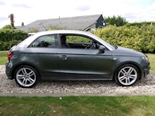 Audi A1 1.4 T FSi S Line 3dr 6 Speed Manual (Bluetooth+Air Con+Isofix+Freshly Serviced+NEW MOT) - Thumb 2