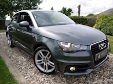 Audi A1 1.4 T FSi S Line 3dr 6 Speed Manual (Bluetooth+Air Con+Isofix+Freshly Serviced+NEW MOT) - Thumb 0
