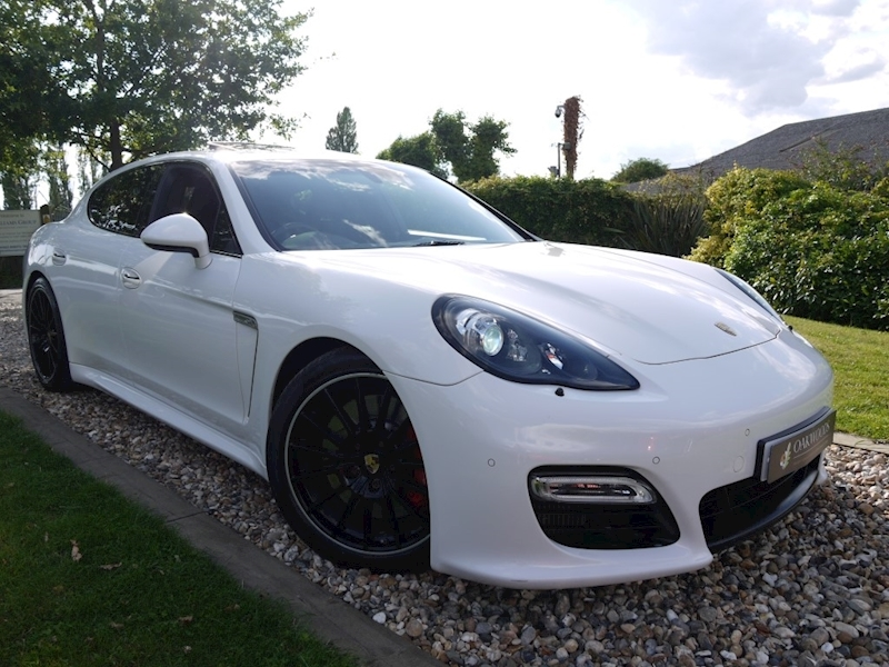 Porsche Panamera Turbo S PDK (1 Owner+Only 27,500 Miles+FPSH+SportsDesign Pack+Sunroof+Carbon Pack+132,000 New List)