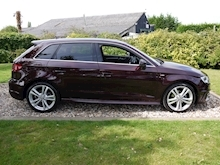 Audi A3 1.4 Tfsi S Line Sat Nav S Tronic (Sportback+Comfort Pack+PRIVACY+1 Lady Owner+Full Audi History) - Thumb 2