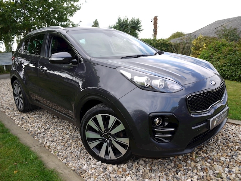 Kia Sportage Crdi Kx-3 Auto (SAT NAV+Cruise Control+HEATED Leather+JBL Audio+DAB+Full KIA History)