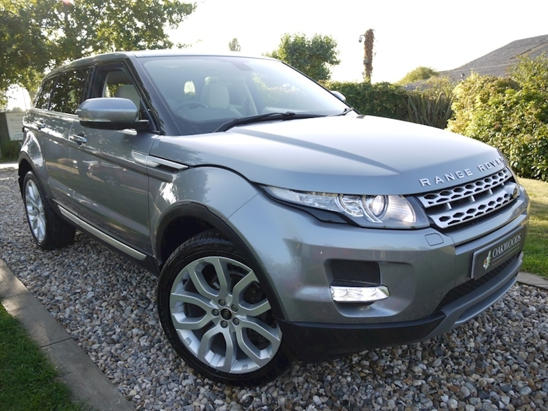 Land Rover Range Rover Evoque Sd4 Prestige (IVORY Smooth Grain Leather+PANORAMIC Roof+20
