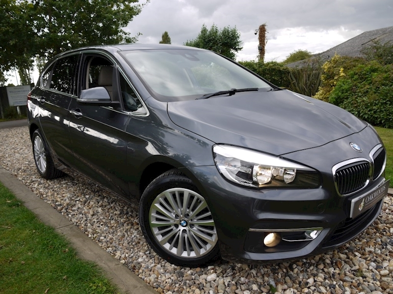 BMW 2 Series 218i Luxury Active Tourer Auto (SAT NAV+DAB+COMFORT Pack+Cruise+BMW FREE SERVICING+PRIVACY)