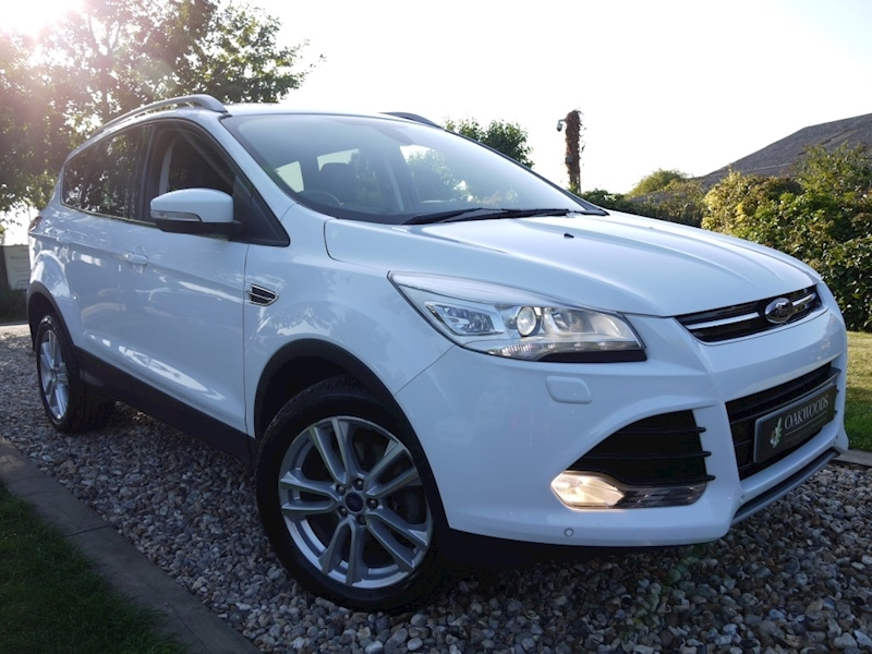 Ford Kuga Titanium X 2.0 TDCi 4x4 AWD (PANORAMIC Glass Roof+DAB+PRIVACY+Full Ford Hist+Self Park+Keyless)