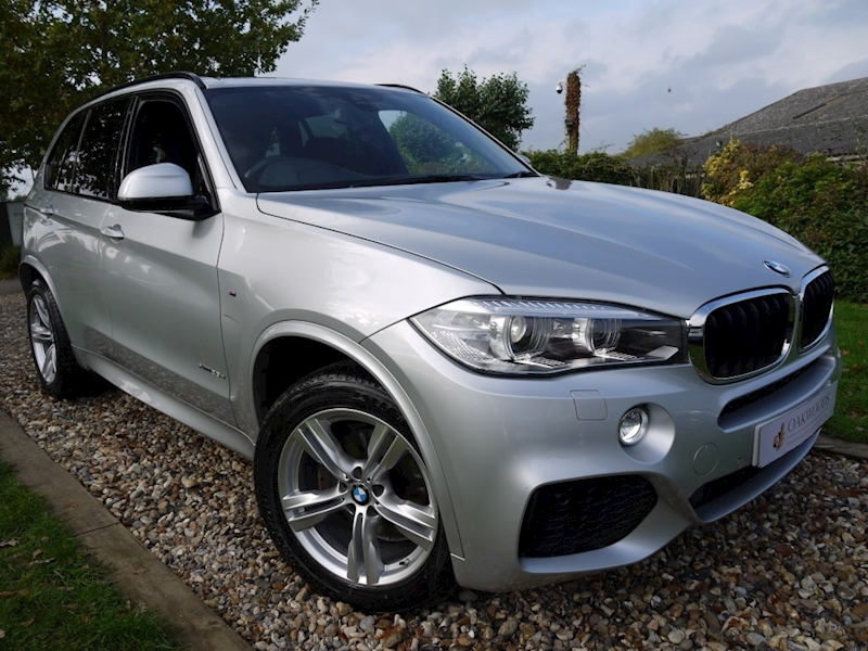 BMW X5 Xdrive25d M Sport 7 Seater (Rear CAMERA+3rd Row Seating+PRIVACY+POWER Mirrors)