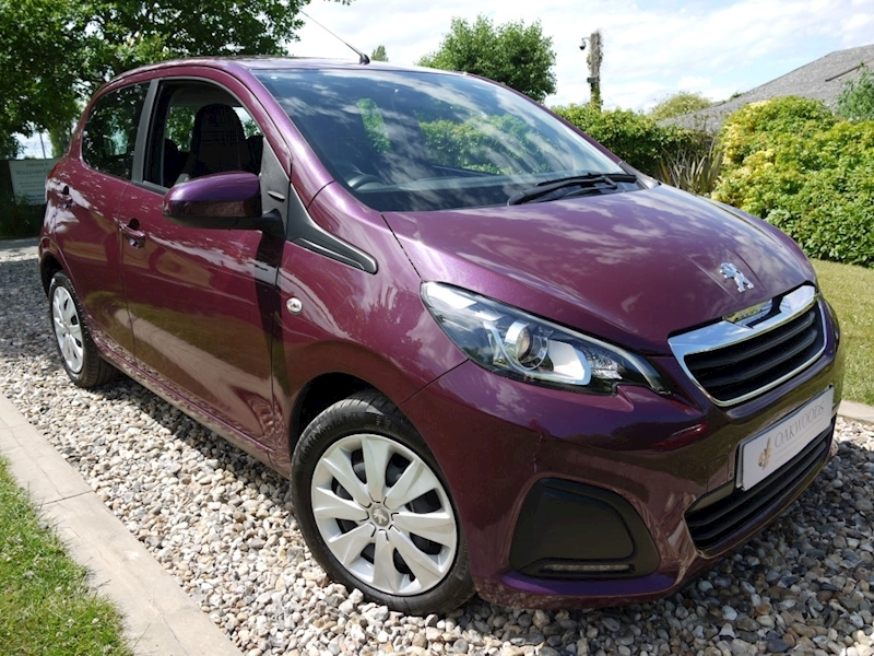 Peugeot 108 Active (60MPG+ULEZ Friendly+Air Con+Cruise Control+BLUETOOTH+DAB+Cheap Insurance)