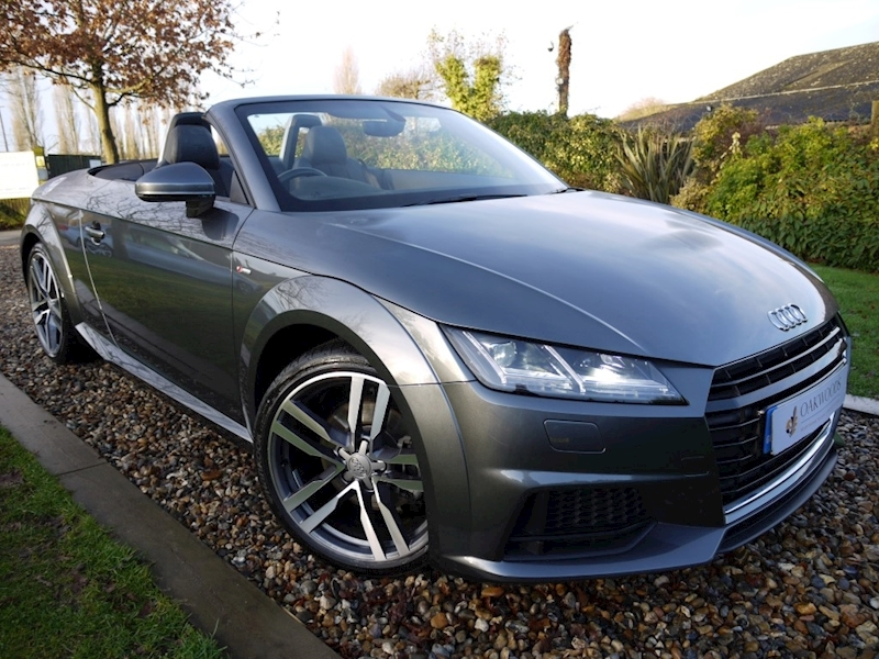Audi Tt 1.8 TFSi S Line New Model (Virtual Cockpit Full SAT NAV+HEATED Seats+1 Private Owner+Audi History)